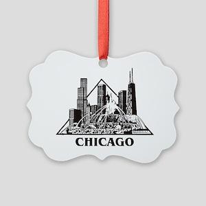 Chicago[1] Picture Ornament
